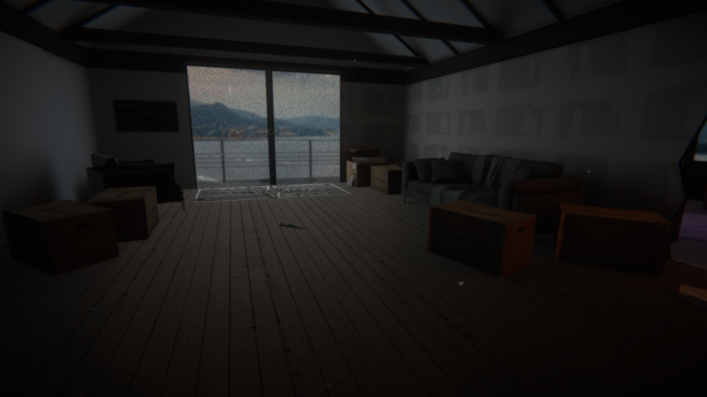VRChatの静かな夜に。Just Moved In